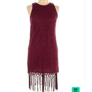 NEW Lush burgundy cocktail dress, size M